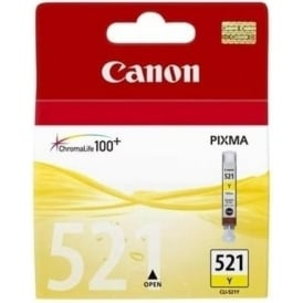 CLI-521 Yellow Ink Cartridge
