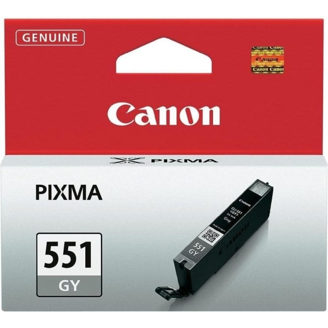 Canon CLI-551 Original Ink Cartradge, Grey
