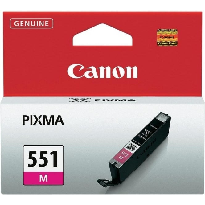 Canon CLI-551 Original Ink Cartradge, Magenta