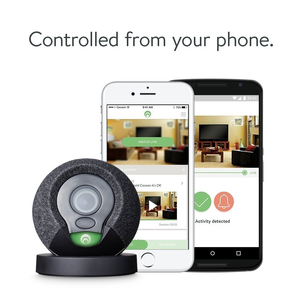 Cocoon 60337 All In One Smart Home Security System