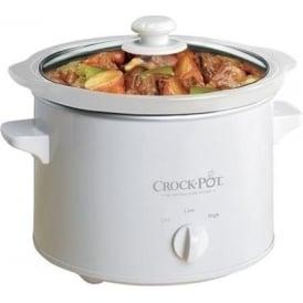 SCCPQK5025W Slow Cooker 2.4ltr
