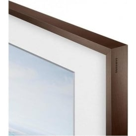 "Customisable Frame in Walnut, Beige or White for Samsung Frame 55"" TV"
