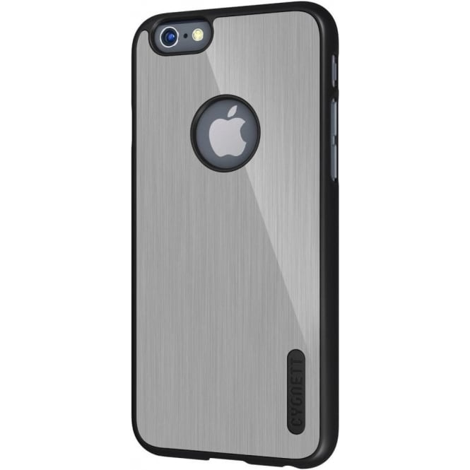 Cygnett UrbanShield Case for the 4.7 inch Apple iPhone 6 and iPhone 6S, Silver Aluminium