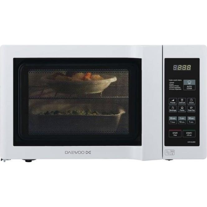 Daewoo Kor6l6bd Duo Plate 20l 800w Microwave White