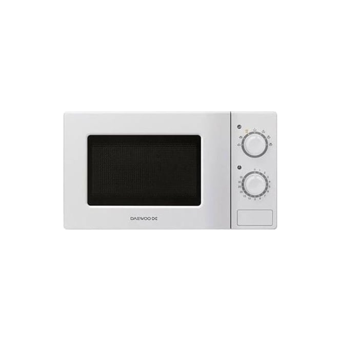 Daewoo KOR6L77 20L Microwave Oven, White