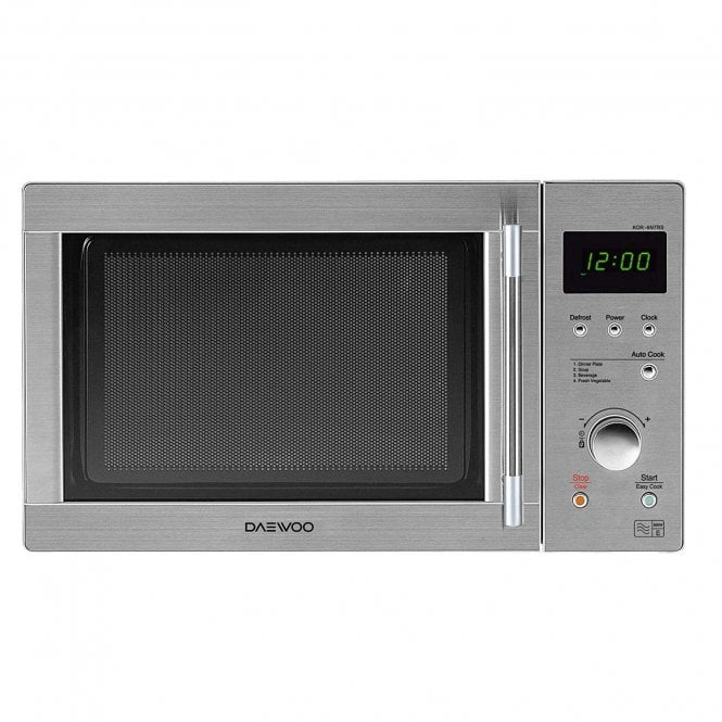 Daewoo Kor6n7rsr Touch Control Solo Microwave Oven 800w