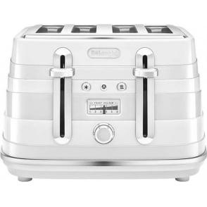 Avvolta 4 Slice Toaster, White