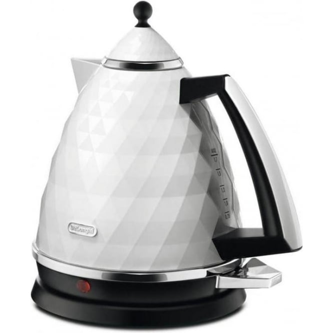 De'Longhi Brillante Kettle, White