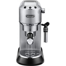 EC685.M Dedica Pump Espresso Coffee Machine, Stainless Steel