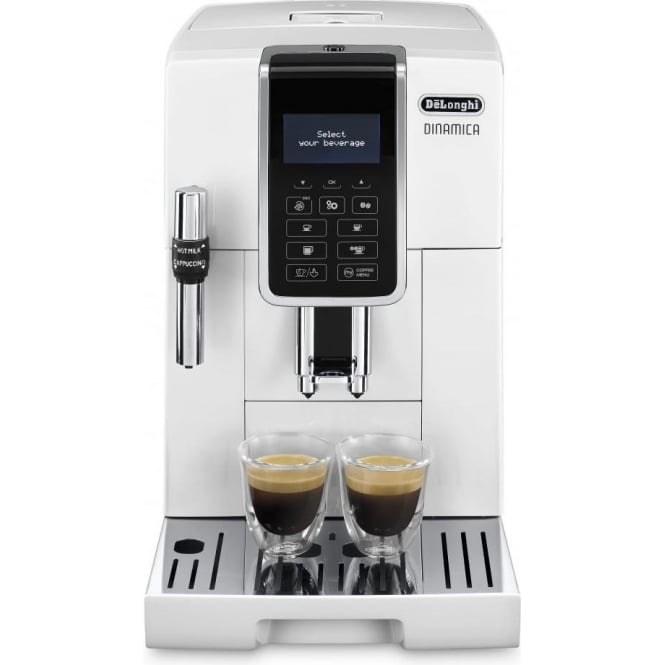 De'Longhi ECAM 350.35.W Dinamica Bean to Cup Coffee Machine, White