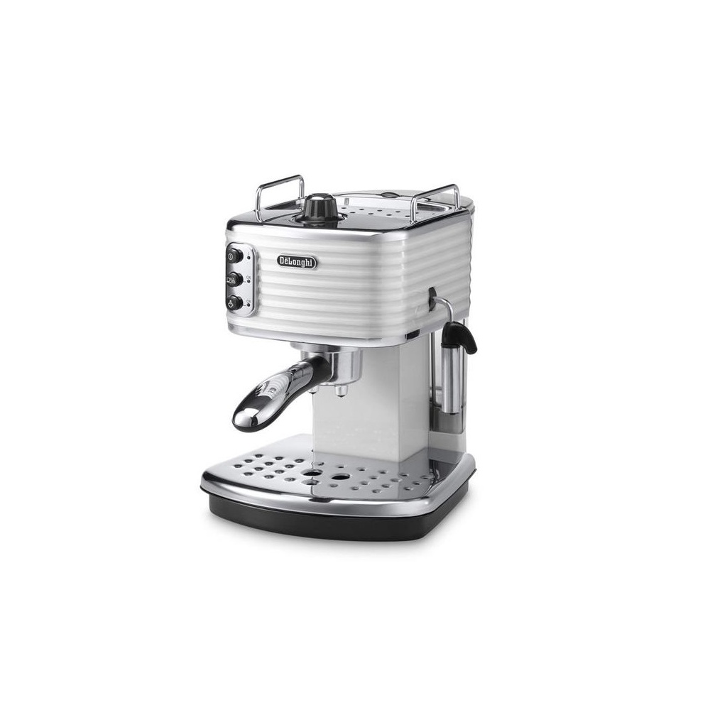 de 39 longhi ecz351w scultura pump coffee machine white de 39 longhi from uk. Black Bedroom Furniture Sets. Home Design Ideas