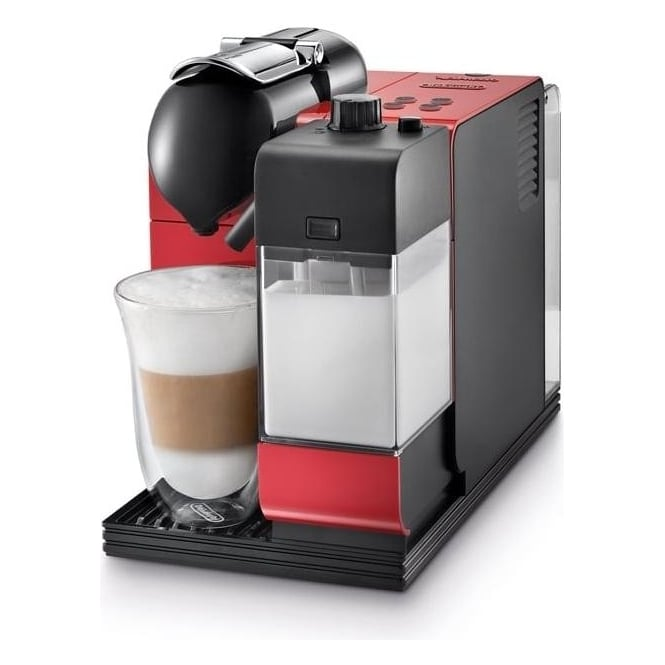De'Longhi EN521.R Latissima+ Coffee Machine, Red