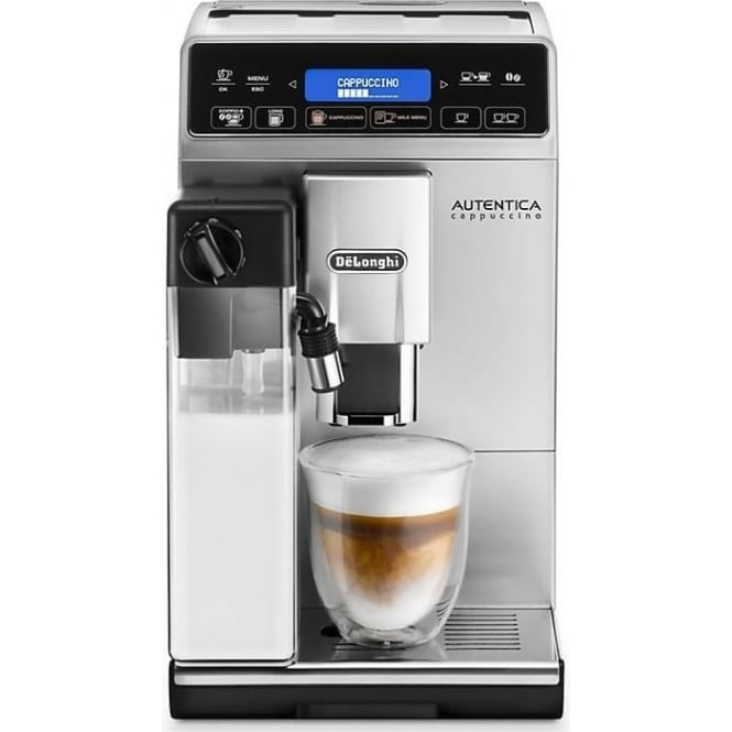 Delonghi ETAM29660SB Autentica Cappuccino Bean to Cup Coffee Machine, Silver