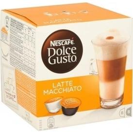 Dolce Gusto Latte Macchiato, 8 Servings