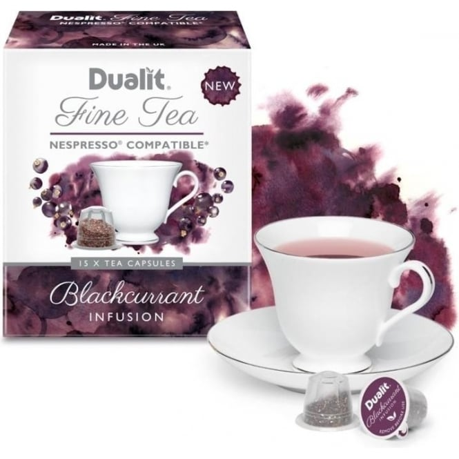 Dualit Blackcurrant Infusion Fine Tea Capsules