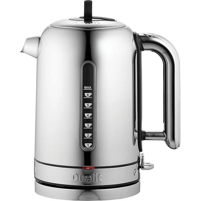 Dualit Classic Kettle, Polished Stainless Steel