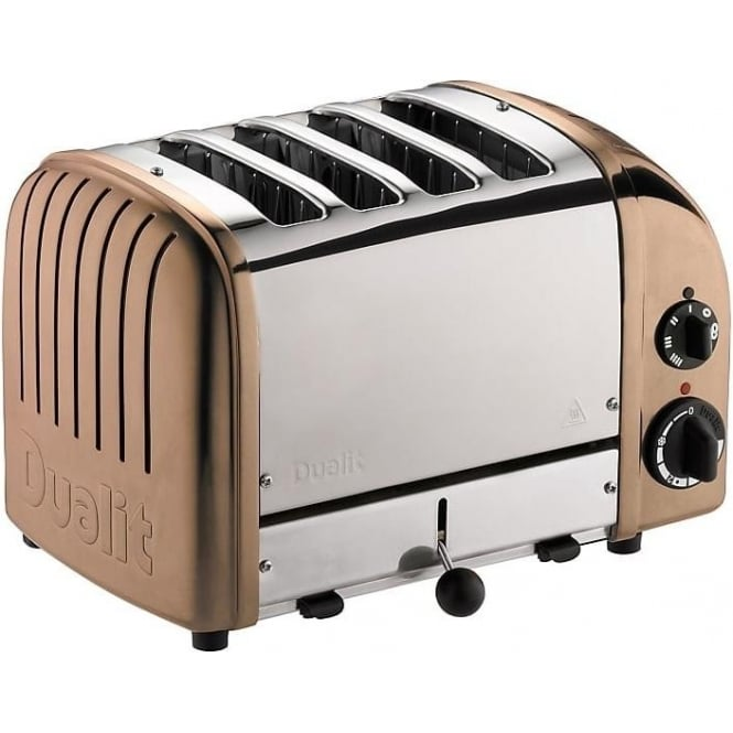 Dualit Classic Vario 4 Slice Toaster Copper Dualit from Powerhouse UK