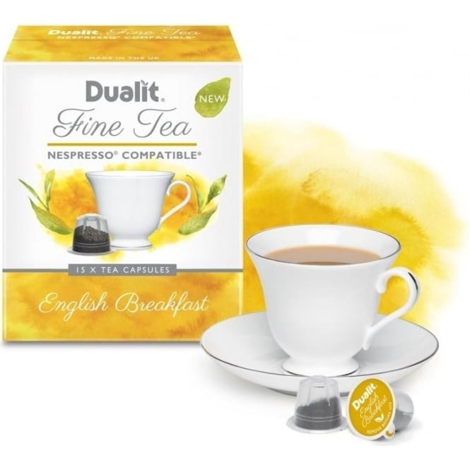 Dualit English Breakfast Fine Tea Capsules