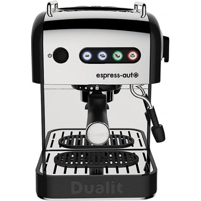 Dualit Espress-Auto 4-in-1 Coffee and Tea Machine, Black