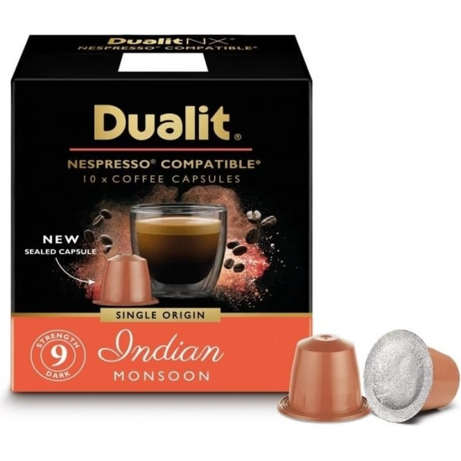 Dualit Indian Monsoon NX Capsules