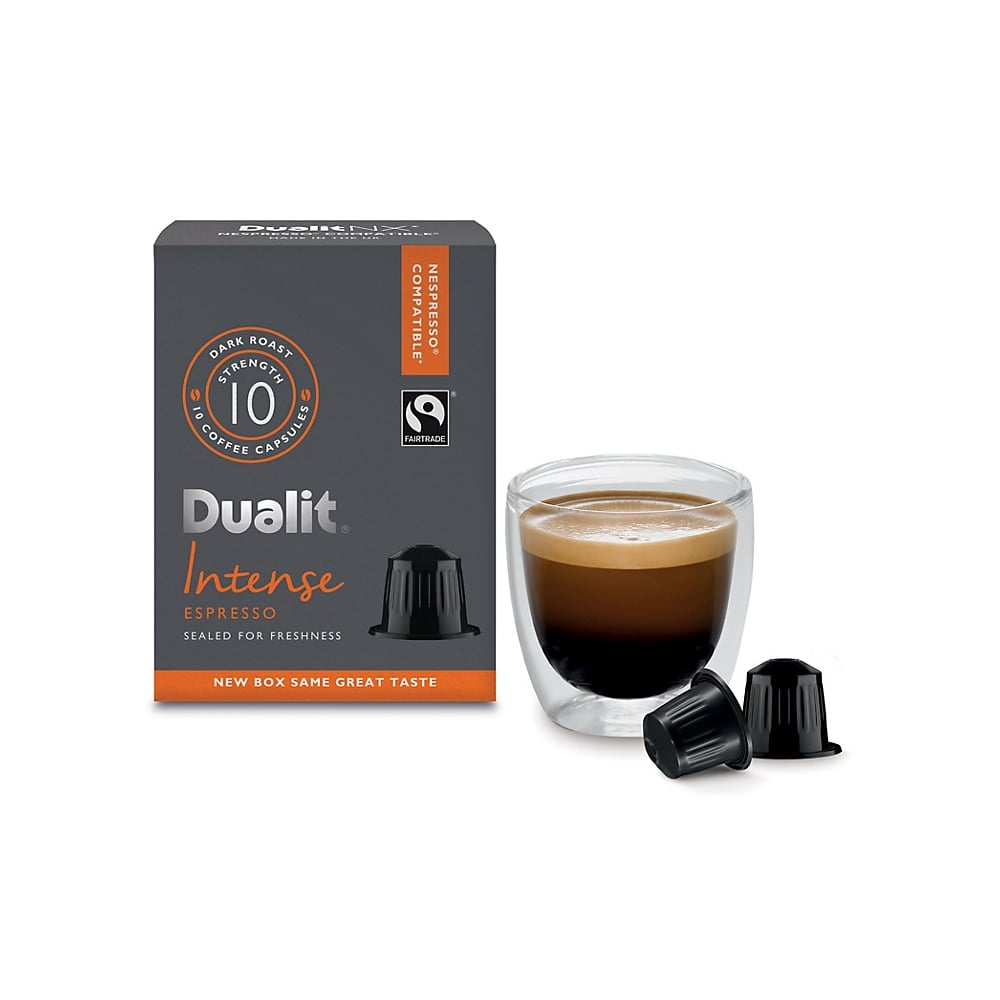 dualit intense espresso nx capsules dualit from uk. Black Bedroom Furniture Sets. Home Design Ideas