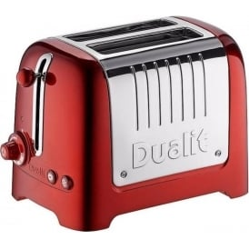 Lite 2 Slice Toaster, Metallic Red