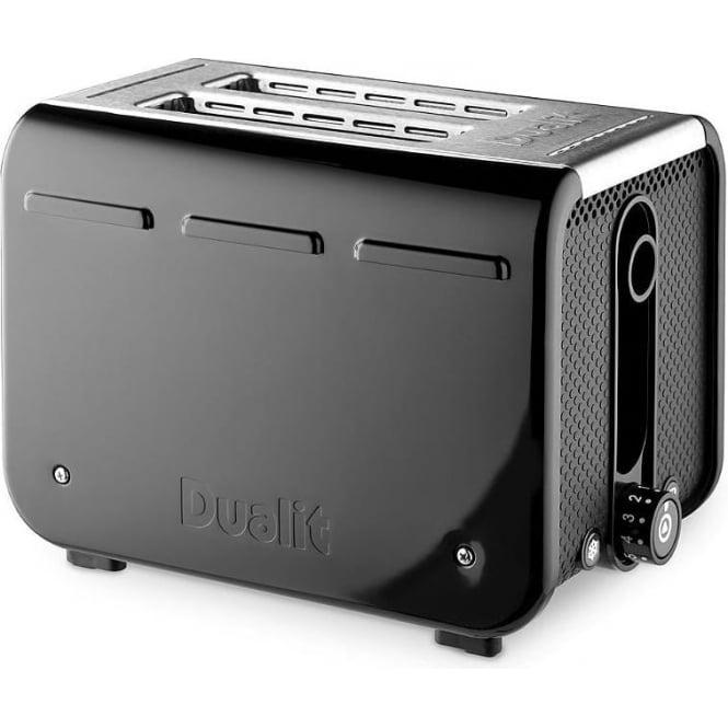 Dualit Studio 2 Slice Toaster, Black