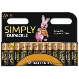 Simply AA Batteries, Pack of 12
