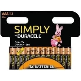Simply AAA Batteries, Pack of 12