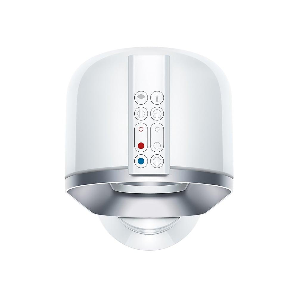 dyson am09 hot cool fan heater white nickel dyson. Black Bedroom Furniture Sets. Home Design Ideas