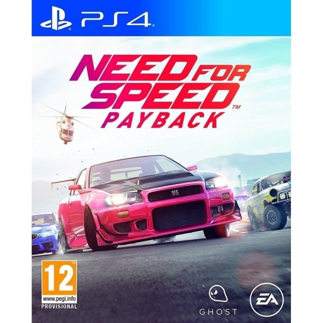 Electronic Arts Need For Speed PayBack PS4