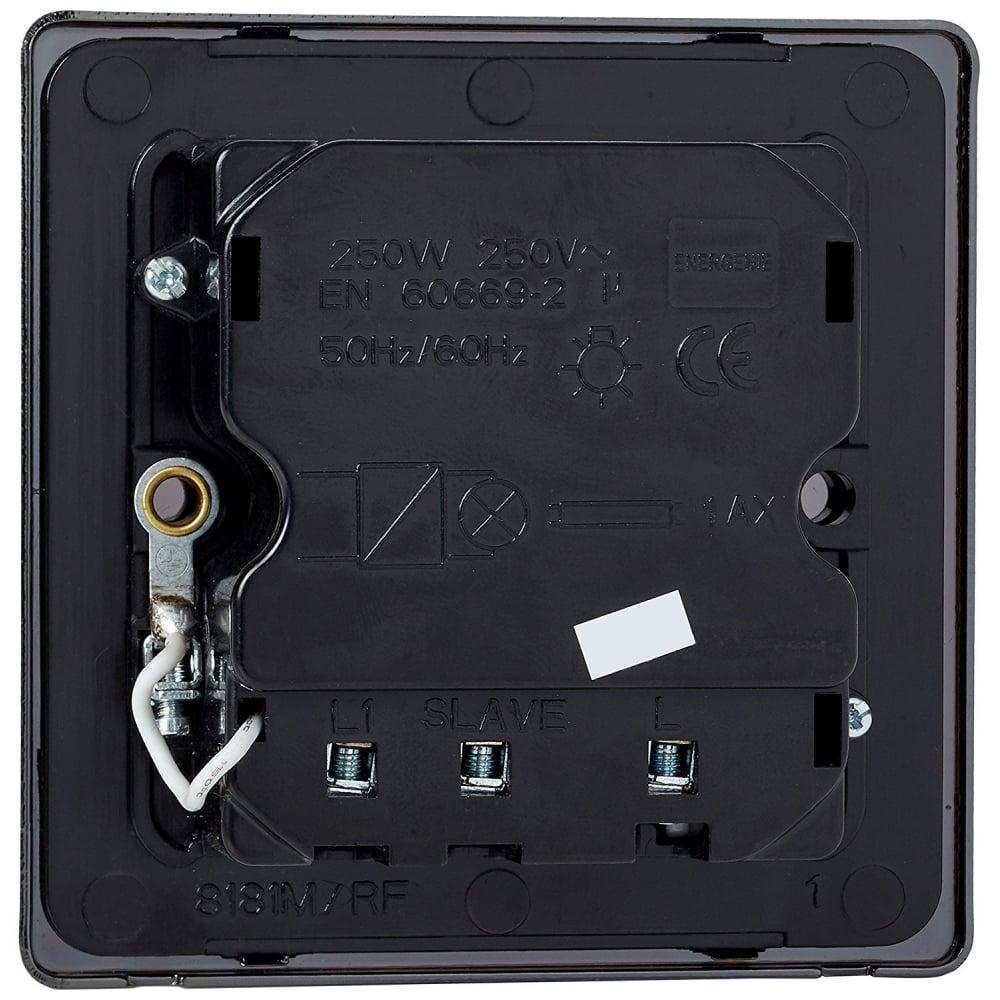 Energenie MIHO024 Mi|Home Light Switch, Black Nickel - Computing ...
