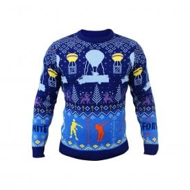 Epic Games  Fortnite Official Christmas Xmas Jumper Sweater