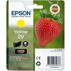Genuine Yellow 29 Ink Cartridge - C13T29844010