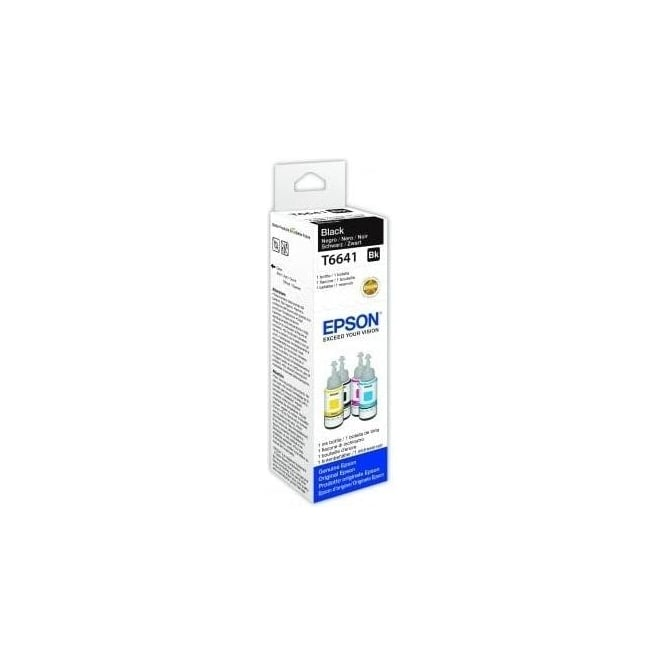 Epson T6641 EcoTank Black Inkjet Cartridge 70ml