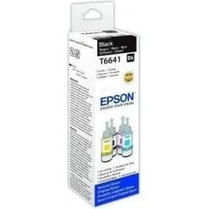 T6641 EcoTank Black Inkjet Cartridge 70ml