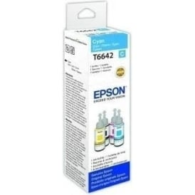 T66424 EcoTank Cyan Inkjet Cartridge 70ml