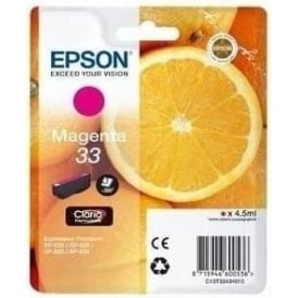 XP530/630/635/830 33 Claria Oranges Premium Photo Ink Cartridge, Magenta