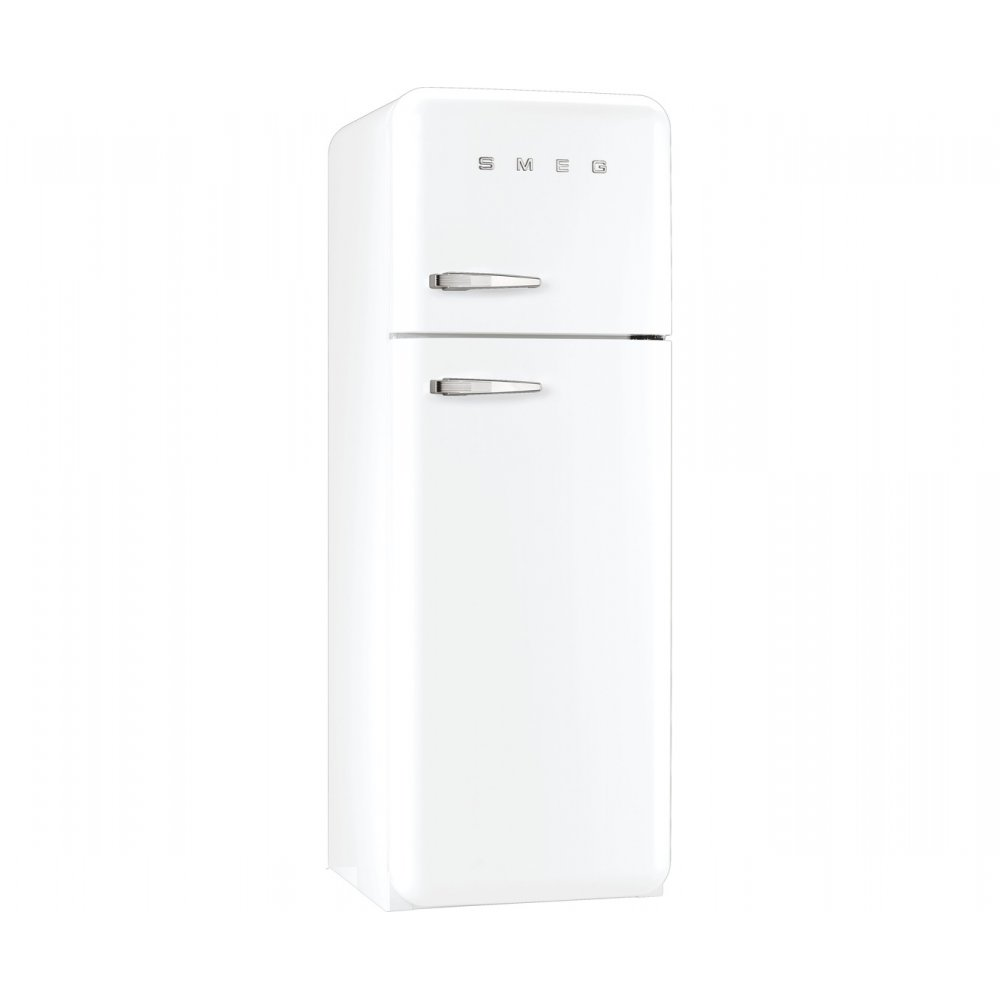 Smeg fab30rfw retro a fridge freezer white smeg from for Smeg fridge