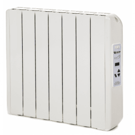 770W Digitally Controlled Ecogreen Heater, White