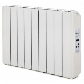990W Digitally Controlled Ecogreen Heater, White