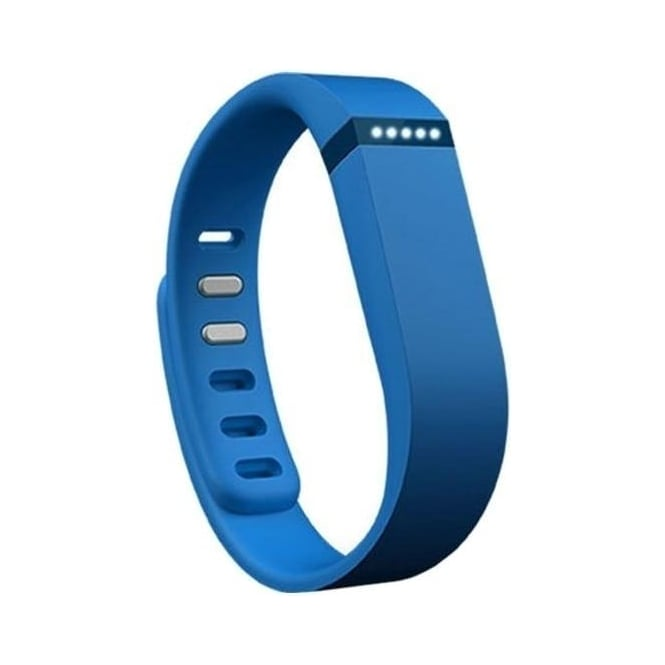 Fitbit FB401BU Flex Wireless Activity Plus Sleep Wristband, Blue