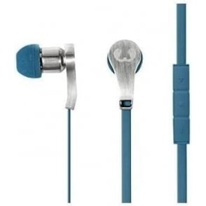 Lace Earbuds Headphones, Indigo