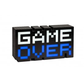 Game Over Sound Reactive Light
