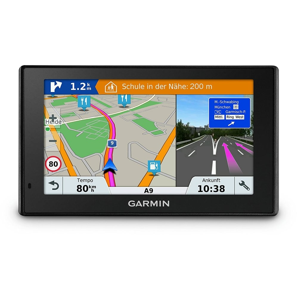 garmin drivesmart 51 lmt s 5 sat nav with lifetime map. Black Bedroom Furniture Sets. Home Design Ideas