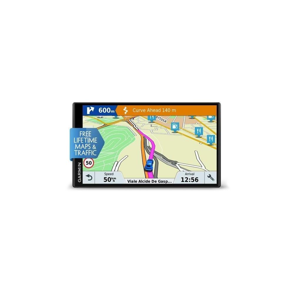 garmin drivesmart 61 lmt d sat nav full europe maps gps voice command computing phones. Black Bedroom Furniture Sets. Home Design Ideas