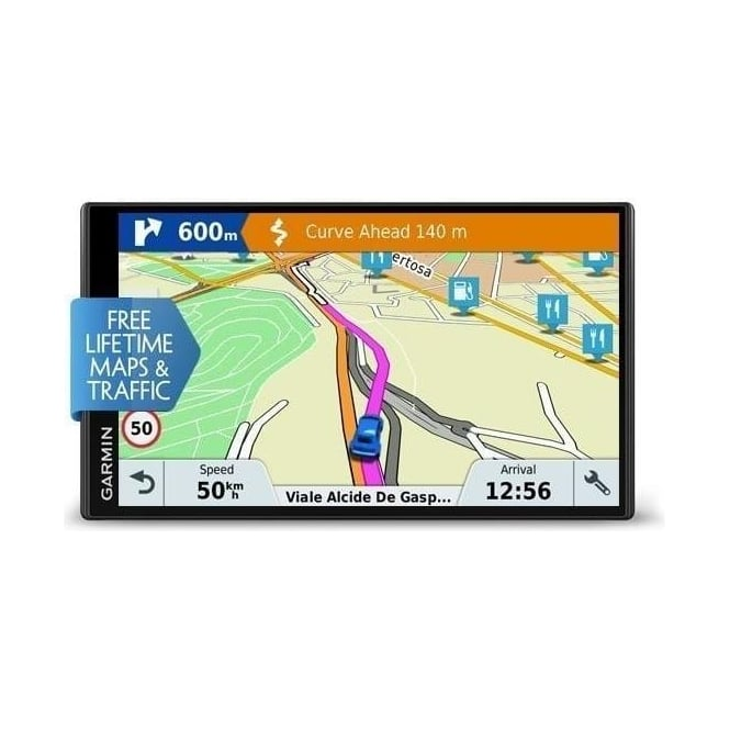 garmin drivesmart 61 lmt d sat nav full europe maps. Black Bedroom Furniture Sets. Home Design Ideas