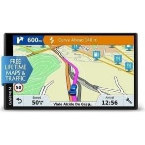 "Drivesmart 61 LMT-D 6.95"" SAT NAV Full Europe Maps GPS Voice Command"