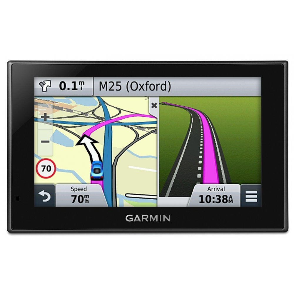 Garmin Nuvi Lmt Sat Nav With Uk Full Europe And North Garmin Usa Maps Uk