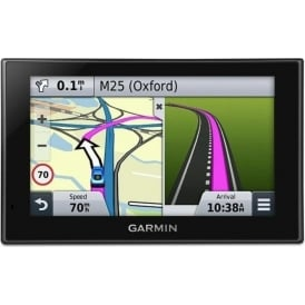 "nuvi 2559LMT 5"" Sat Nav with UK, Full Europe and North America Maps, Free Lifetime Map Updates, Free Lifetime Traffic Alerts and Bluetooth"